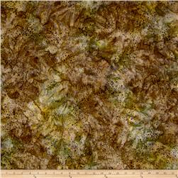 Kaufman Elemental Batiks Tonal Dots Nature