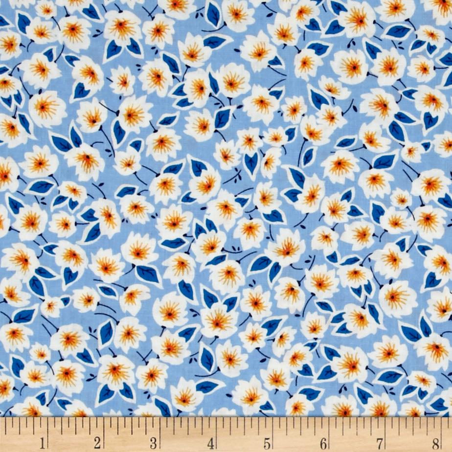 Penny Rose Hope Chest 2 Floral Blue
