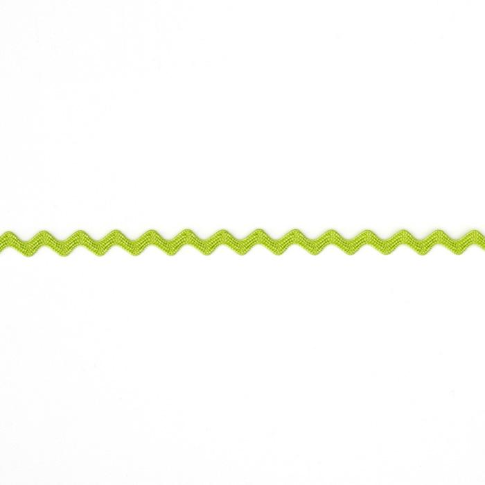 "1/8"" Ric Rac Rayon Mini Trim Lime"
