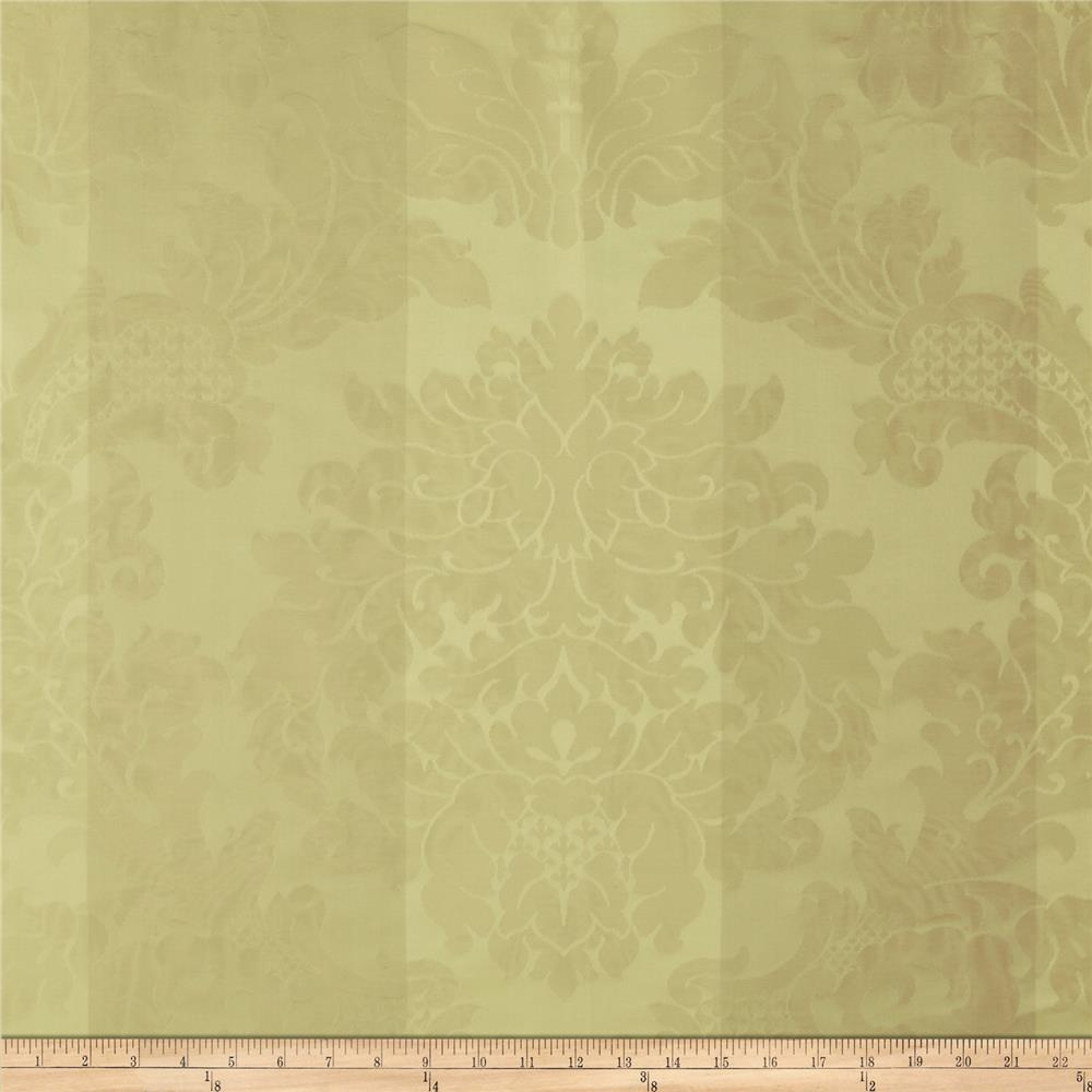 Robert Allen Promo Stripe Damask Jacquard Celadon