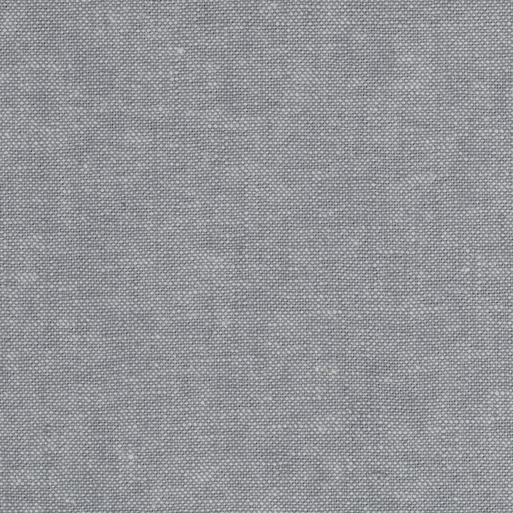 Kaufman essex linen blend yarn dyed steel discount for Fabric material