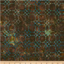 Artisan Batiks Greenhouse Honeycomb Retro