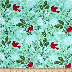 Moda Jingle Birds & Berries Ice