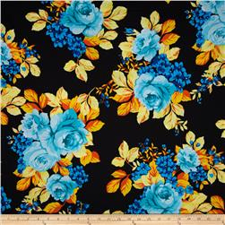 Ponte de Roma Floral Yellow/Orange/Black/Blue