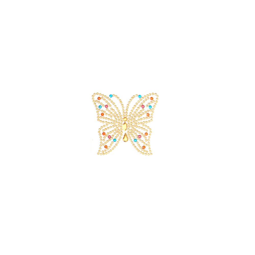 Butterfly Applique Pastel