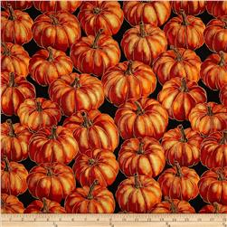 Autumn Fauna Pumpkin Black/Russett