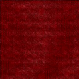 Flannel Dit Dot Flame Red