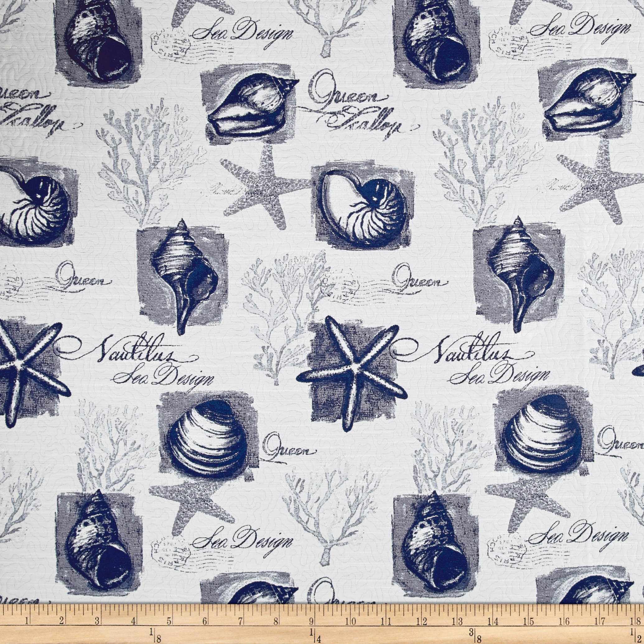 Golding by P Kaufmann Clearwater Matelasse Delft Fabric by Golding in USA