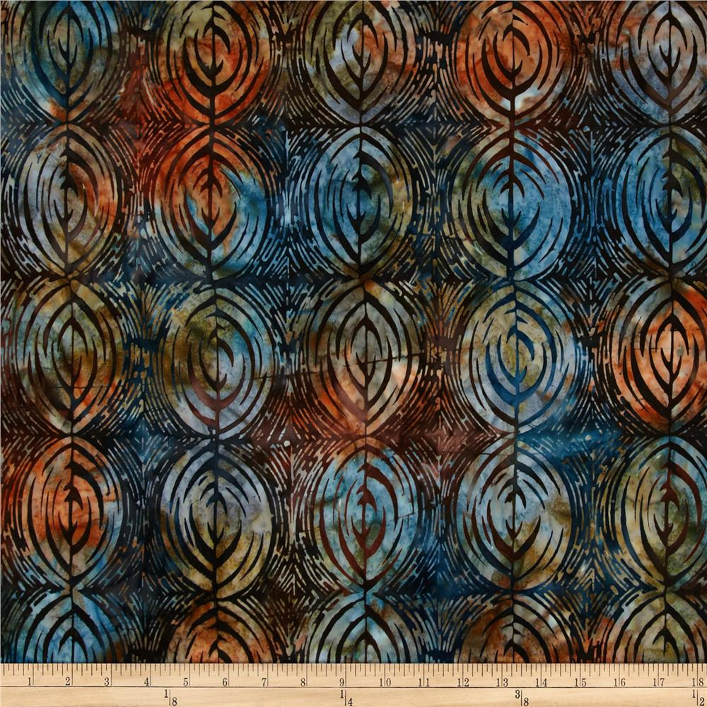 Artisan Batiks Bakari Oval Stripe Sunset