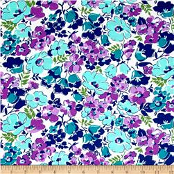Hello Jane Packed Floral Lilac