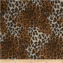 Yoryu Chiffon Wild Leopard Brown/Black