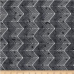 Seaside Lace Chevron Black