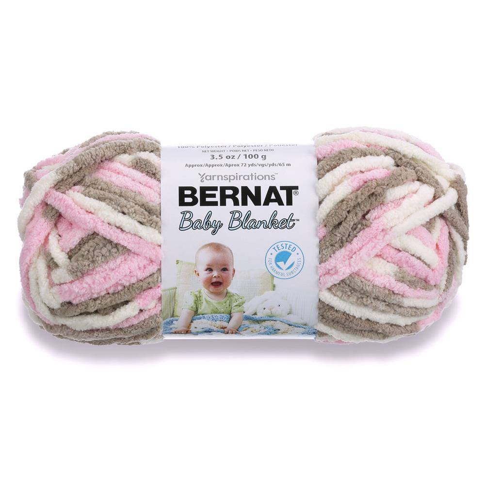 Crochet Patterns Bernat Blanket Yarn : Bernat Baby Blanket Yarn (03421) Little Petunias - Discount Designer ...