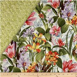 Botanical Society Large Floral Double Sided Quilted