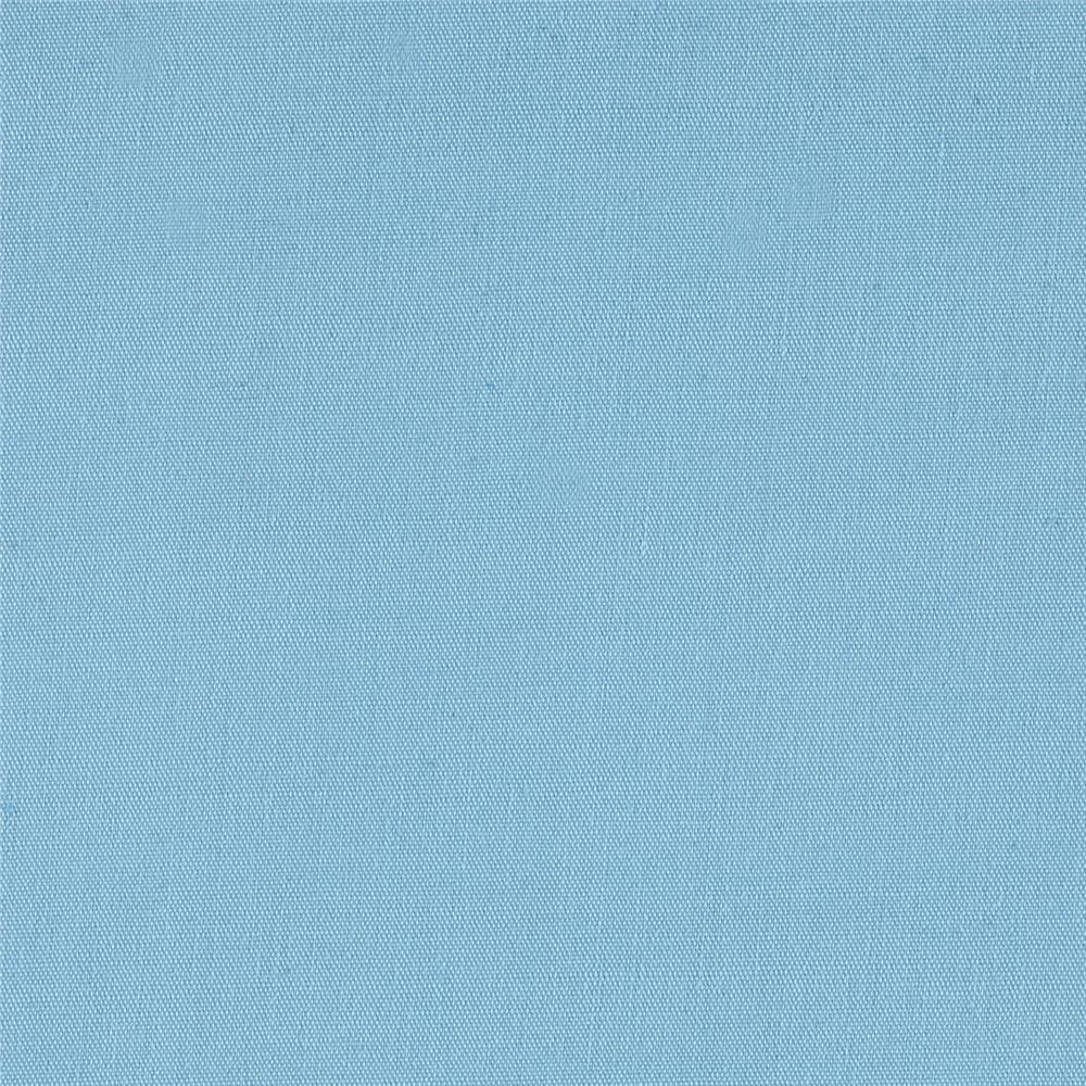 60'' Poly Cotton Broadcloth Baby Blue Fabric By The Yard