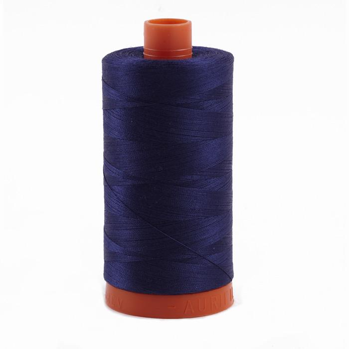 Aurifil Quilting Thread 50wt Dark Navy