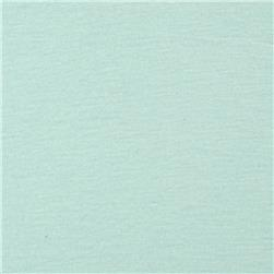 Tissue Cotton Blend Jersey Knit Solid Light Ice Blue