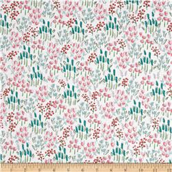 Riley Blake Curiosities Field of Flowers White