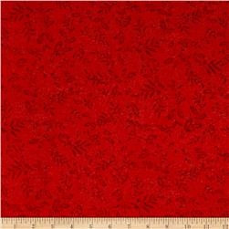 Mistletoe Metallic Mistletoe Red