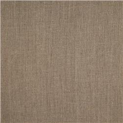 European Linen Fabric Oatmeal