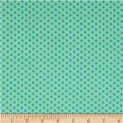 Riley Blake Bee Basics Tiny Daisy Teal