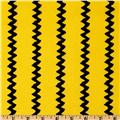 Happiness Is…Peanuts Zig Zag Stripes Yellow