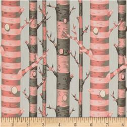 Tula Pink Bumble Forest Stripe Sorbet Fabric
