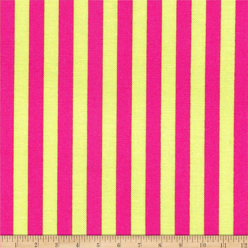 Michael Miller Clown Stripe Watermelon