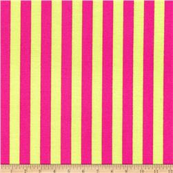 Michael Miller Clown Stripe Watermelon Fabric