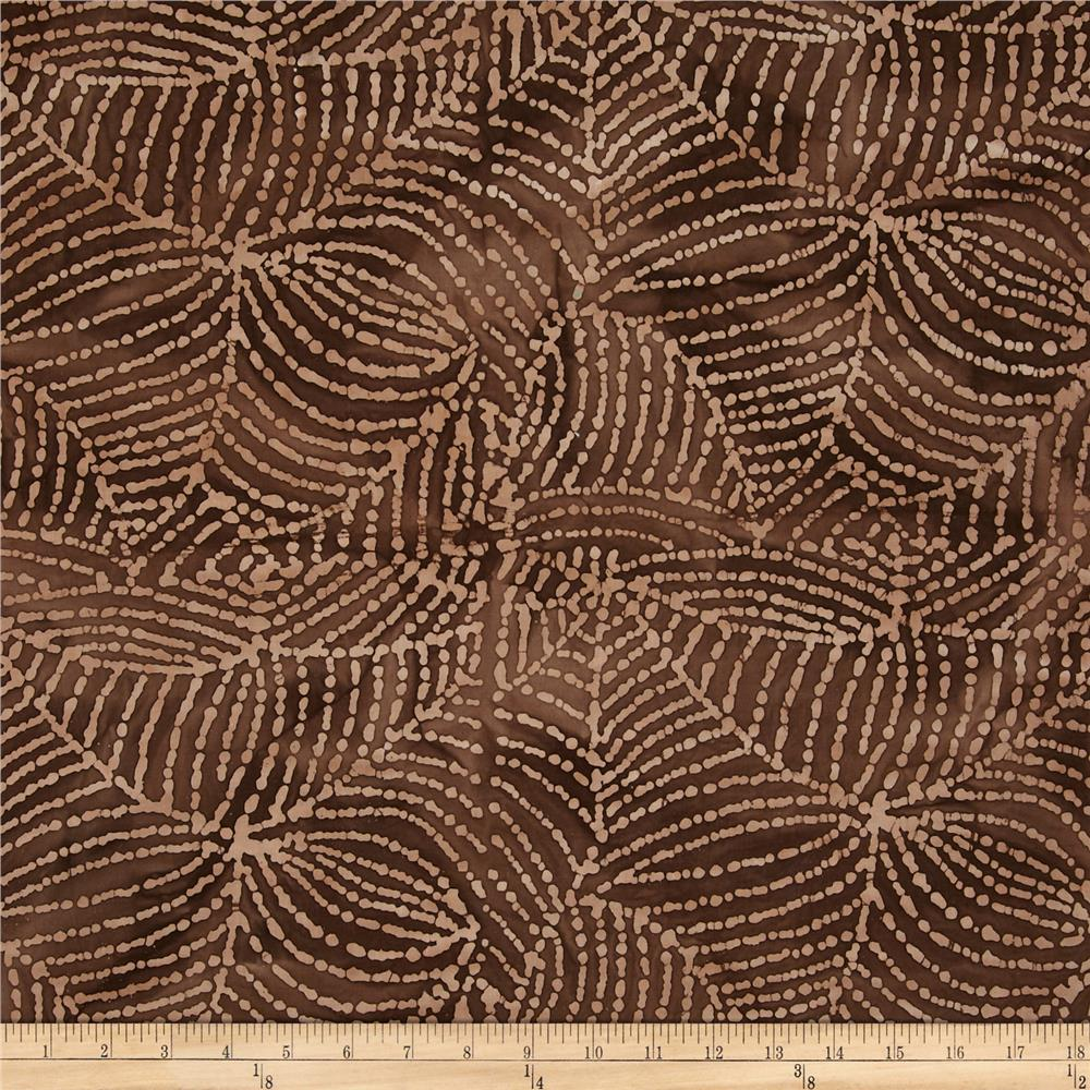 Indian Batik Web Brown/Beige