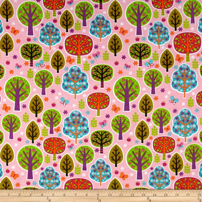 Flannel Colorful Orchard