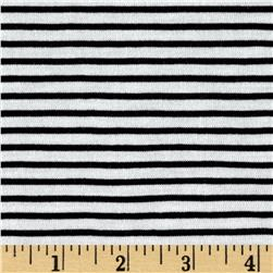 Designer Knit Jet Black Stripes