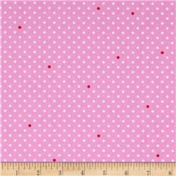 Michael Miller Cynthia Rowley Paintbox Pin Dot Pink
