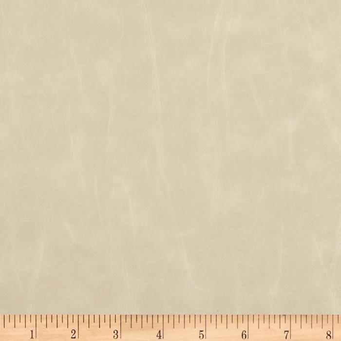 Richloom Faux Leather San Francisco Ivory