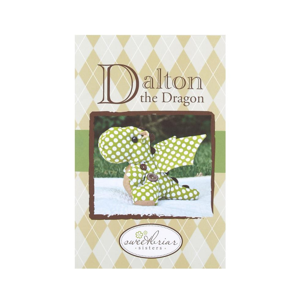 Sweetbriar Sisters Dalton The Dragon Stuffed Animal Pattern
