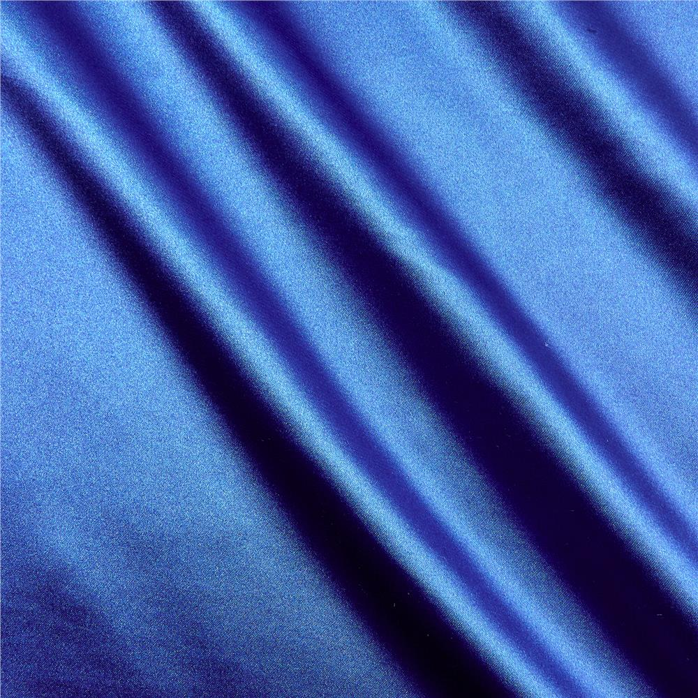 Stretch Charmeuse Satin Royal Fabric By The Yard