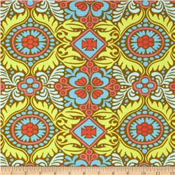 Amy Butler Belle Kasmir Okra Fabric
