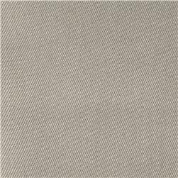 Stretch Wool Blend Serge Grey