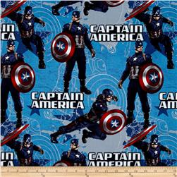 Marvel Captain America Star Blue