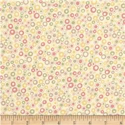 Return to Mackinaw Island Dots Pastel Pink Fabric