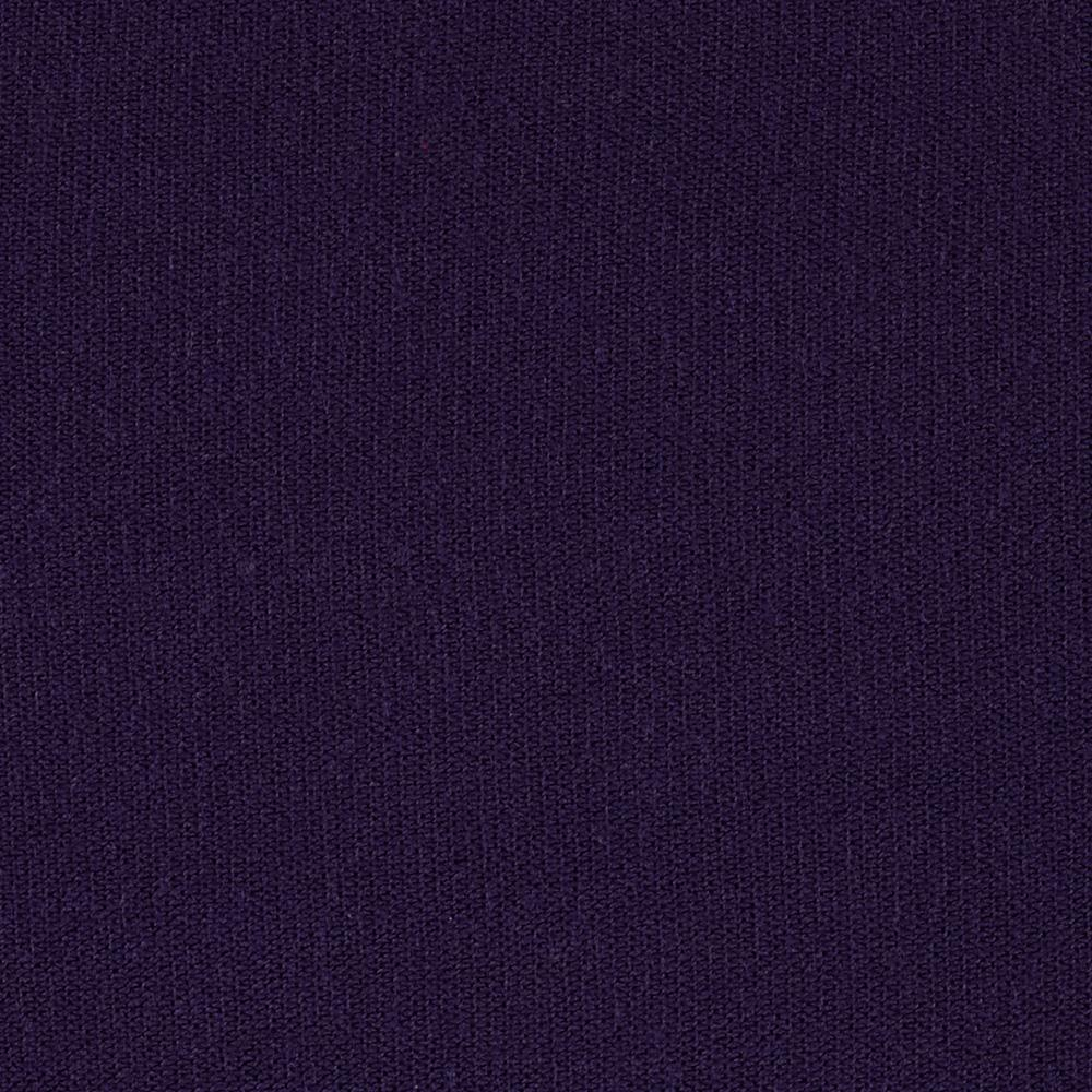 Stretch Blend Hatchi Sweater Knit Solid Dark Purple