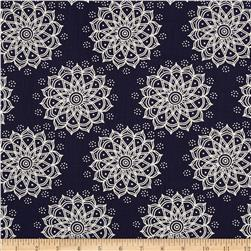 Mint To Be Mandala Navy
