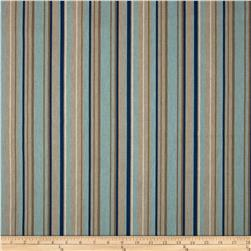 Premier Prints Premier Stripe Blend Laken Indigo Fabric