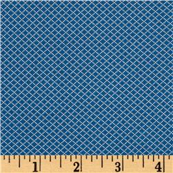 Moda Spring -A-Ling Diamond Grid Blueberry