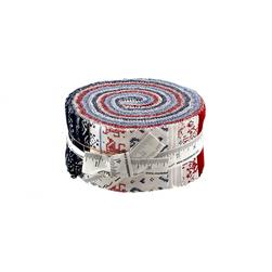 Moda Nordic Stitches Jelly Roll