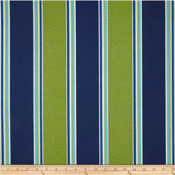 Maco Indoor/Outdoor Coach Stripe Wasabi Fabric