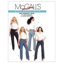 McCall's Misses'/Women's Jeans Pattern M5894 Size B50