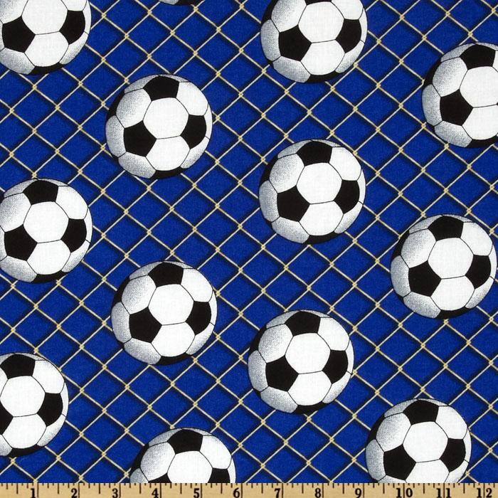 Sports Soccer Royal Blue