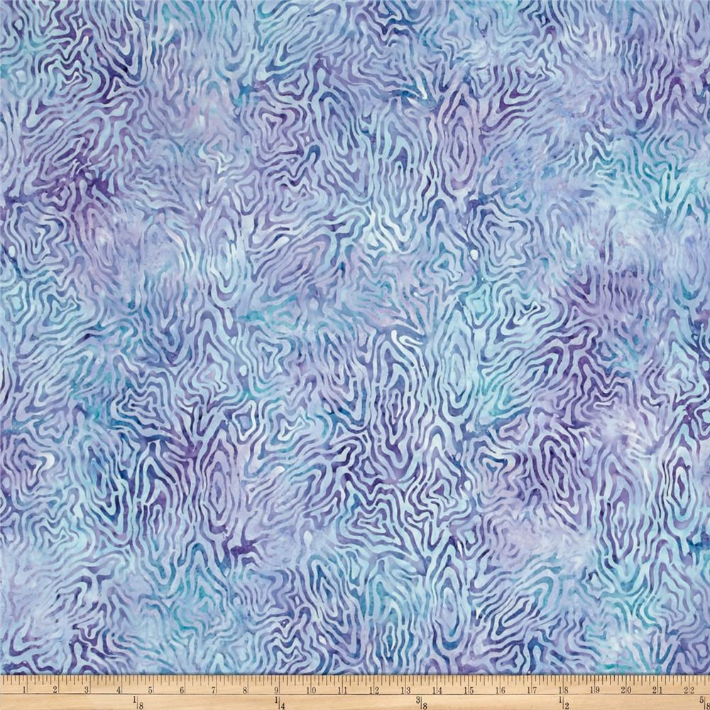 Wilmington Batik Rippled Reflections Blue/Purple
