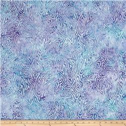 Batavian Batik Rippled Reflections Blue/Purple